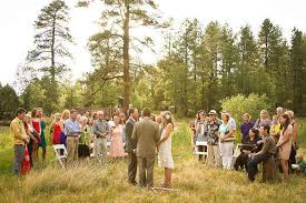 small wedding ceremony real weddings becca jonathan s intimate arizona park wedding