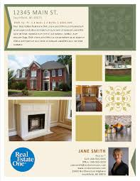 Real Estate Booklet Template by Property Flyer Publisher Templates U2013 Reo Family Marketing
