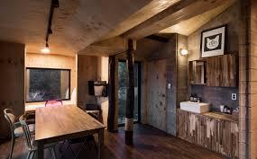 tium architects design a country cabin in south korea interior
