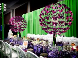 butterfly centerpieces by josedesigns com bizbash expo booth ft