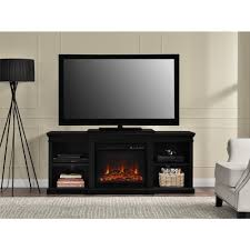 altra home decor altra furniture manchester black fire place entertainment center
