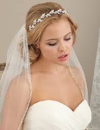 bridal headband headbands hair ribbons bel aire bridal