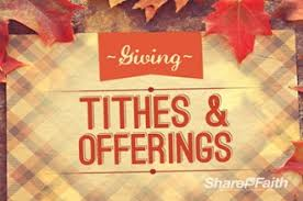 fall plaid offering church motion graphics