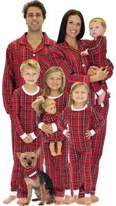 cotton flannel stewart plaid matching pajamas for the whole