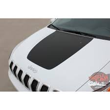 jeep cherokee decal jeep cherokee t hawk trailhawk hood center blackout vinyl graphics