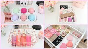 makeup storage and organization ideas youtube