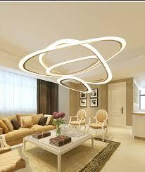 Creative Bedroom Lighting Aliexpress Com Buy Sitting Room Postmodern Acrylic Rings Pendant