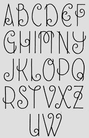 journal hand lettering alphabet font hannahchute sarahchute