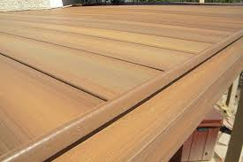 edge detail for capped composite decking professional deck
