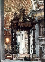 baldacchino by bernini baroque 1600 1800
