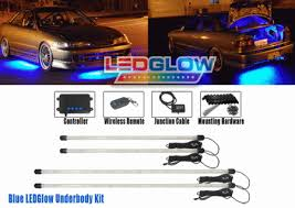 Led Glow Universal Led Glow Blue Led Underbody Light Kit With Wireless Remote
