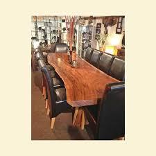 Acacia Wood Dining Room Furniture 3m Acacia Wood Dining Table Mango Crafts Furniture Creations