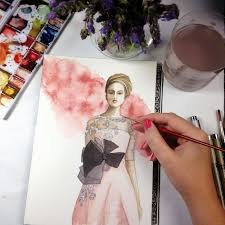our international wedding watercolor wedding dresses