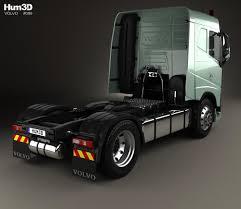 2012 volvo truck price volvo fh 420 sleeper cab tractor truck 2 axle 2012 3d model hum3d