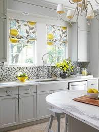 cuisine moderne jaune rideau jaune unique passionné rideaux cuisine moderne photos les