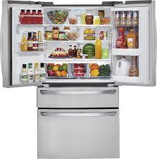 glass door coolers for sale lg door in door 29 9 cu ft 4 door french door refrigerator with