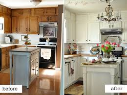 cheap kitchen remodel ideas before and after i did this i painted my oak cabinets white we added bead