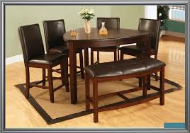 Dining Room Chairs And Benches Milano Counter Height Triangle Table With 4 Chairs And Bench