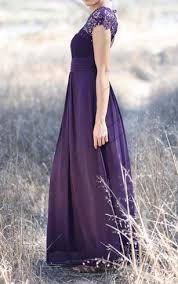 royal purple color bridesmaids dresses lavender bridesmaid dress