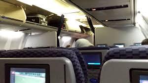 united airlines international carry on 4k uhd boarding u0026 inside united airlines 737 700 boeing newark