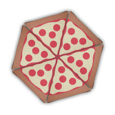 pizza pie diy digital pdf gift box favor printable color