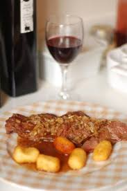 atelier cuisine versailles skirt of beef with candied shallots fried croquettes pommes