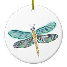 stained glass dragonfly ornaments keepsake ornaments zazzle