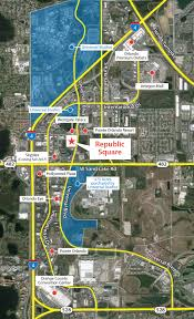 Map Of Pointe Orlando by Land Retail Redevelopment For Sale At 7430 7552 Universal Blvd