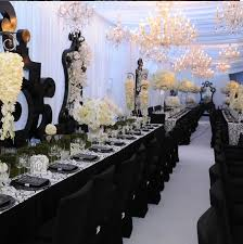 black and white wedding decorations how to rock a black white wedding in jamaica jamaica weddings