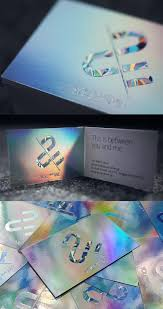 Custom Holographic Business Cards Super Shiny Holographic Foil Business Card Design Business Card