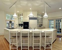 kitchen island lighting brushed nickel wooden floor