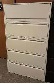 Used Lateral File Cabinets Used Haworth 5 Drawer Lateral File Cabinets 36 Wide 950 Series