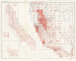 Map Of The Coast Of California California Topographic Maps Perry Castañeda Map Collection Ut