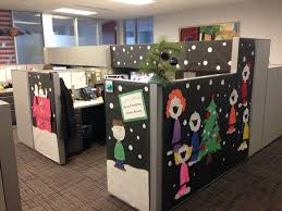 christmas desk decoration ideas best christmas cubicle decorating ideas mariannemitchell me