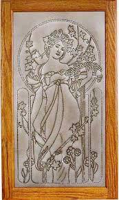 Pierced Tin Panel Art Nouveau Backsplash Under Glass Kitchen - Punched tin backsplash