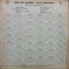 Ruth Fernandez Salsa Y Mas Salsa Jose Luis Monero Nd Ruth Fernandez Estrellas
