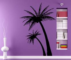vinyl wall decal palm tree color the walls of your house vinyl wall decal palm tree palms wall decals beach palm tree home decor by decalmyhappyshop