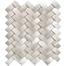 ms international mystic cloud arched herringbone 12 in x 12 in x