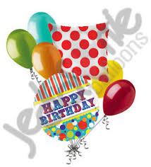 circus balloon 7 pc big top circus balloon bouquet party decoration happy