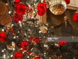 White House Christmas Ornament - laura bush hosts preview of white house christmas decorations