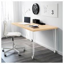 Ikea Extendable Table by Krille Leg With Castor White 70 Cm Ikea