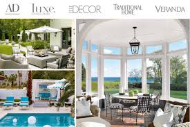 Patio Interior Design Amalfi Luxury Outdoor Patio Furniture As Seen In Luxe Interiors