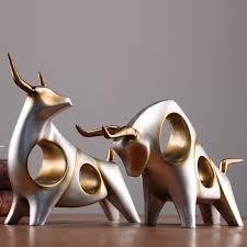 Home Decor Sculptures Online Get Cheap Cattle Sculptures Aliexpress Com Alibaba Group