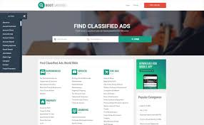 bootclassified classifieds websites html theme template