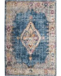 Bohemian Area Rugs Find The Best Deals On Safavieh Bristol Bohemian Blue Ivory