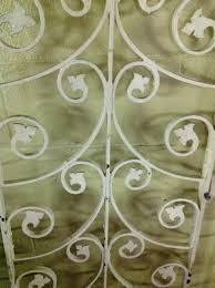 pair of vintage french wrought iron gates omero home