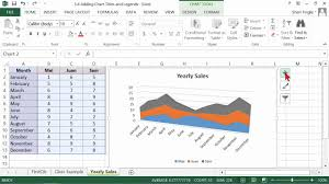 microsoft office excel 2013 tutorial adding chart titles and