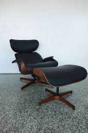 Black Chair And Ottoman by Mr Chair By George Mulhauser For Plycraft Black Lounge Chair And
