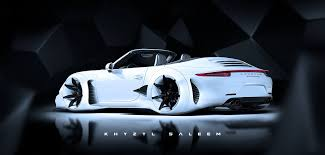 cars like porsche 911 porsche 911 cabriolet turned into audi rsq lookalike that