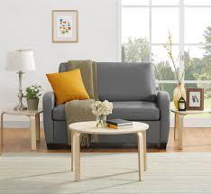 dorel living mainstays sofa sleeper gray